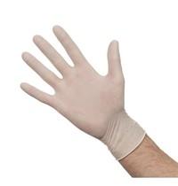 Gastronoble Handschoenen latex gepoederd wit | 100 stuks