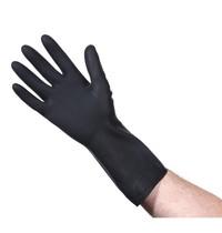 Mapa Handschoenen neopreen/natuurlijk latex voor schoonmaak & onderhoud zwart