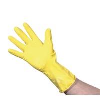 Jantex Handschoenen geel natuurlijk latex