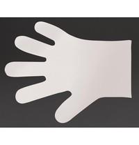Vegware Handschoenen composteerbaar wit | Maat M | 2400 stuks