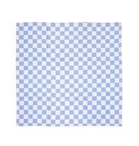 Vogue Theedoek blauw geblokt 100% katoen | 660(b)x660(d)mm