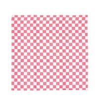 Vogue Theedoek geblokt rood 100% katoen | 660(b)x660(d)mm
