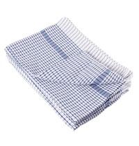 Vogue Theedoek wonderdry polyester/katoen blauw | 10 stuks | 762(b)x508(d)mm
