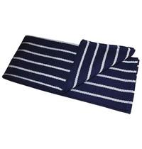Vogue Theedoek polyester/katoen met slagersstreep blauw/wit | 711(b)x475(d)mm