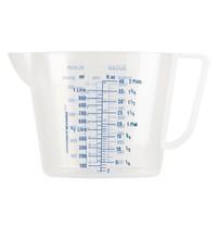 Gastronoble Maatbeker polypropyleen 1L | 135(Ø)x130(h)mm
