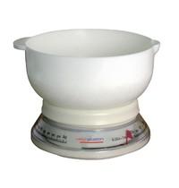 Weighstation Weegschaal analoog   Cap. 3kg   18(Ø)cm kom met schenktuit