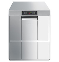 SMEG Glazenspoelmachine EASYLINE   400V   Mand 500x500mm   600x600x720(h)mm