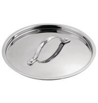 Vogue Deksel Triwall RVS/Aluminium voor Y246 | 20(Ø)cm