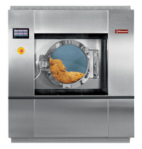 Diamond Industriële RVS wasmachine met supercentrifugering 40kg  | 32kW/h | 1540x1532x1770(h)mm