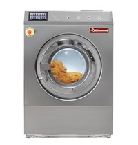 Diamond Wasmachine met vloerbevestiging RVS 11kg met touchscreen | 10,5 kW/h | 720x933x1034(h)mm