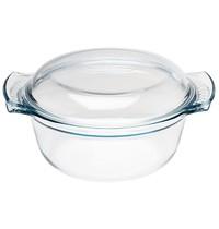 Pyrex Ronde glazen casserole 1,5L | 245x195x95(h)mm