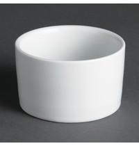Olympia Whiteware eigentijdse ramekins 8cl | 12 stuks | 7(Ø)x4,2(h)cm
