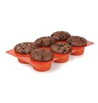 Pavoni Bakvorm siliconen | Cap. 6 muffins | 175x300x40(h)mm