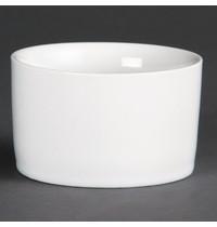 Olympia Whiteware eigentijdse ramekins 14cl | 12 stuks | 8(Ø)x4,8(h)cm