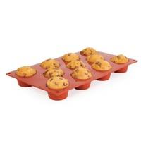 Pavoni Bakvorm mini siliconen | Cap. 11 muffins |  5(Ø)x2,8(h)cm
