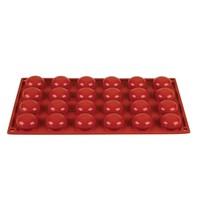 Pavoni Bakvorm siliconen | Cap. 24  pomponettes | 3,4(Ø)x1,6(h)cm