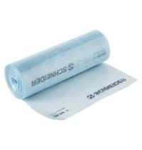 Schneider Wegwerp spuitzakken blauw polyethyleen | 100 stuks | 230x70x470(h)mm