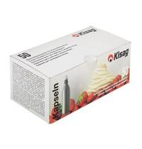 KISAG Slagroompatronen  | 50 stuks | 1,7(Ø)x6,5(h)cm