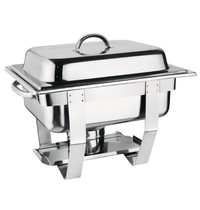 Olympia Chafing dish set 3,7L | 1/2 GN | 365x300x300(h)mm