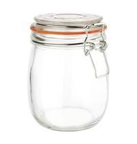 Vogue Conservenpot glas 0,75L |  8,9(Ø)x14,5(h)cm