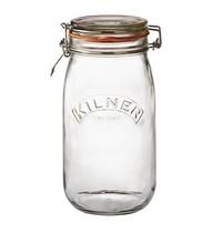 Kilner Weckpot glas met beugelsluiting 1,5L   13,7x11,3x23(h)cm