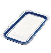 Araven Deksel luchtdicht voor ABS blauwe voedseldoos + 1/3 GN | 6 stuks | 325(b)x176(d)mm