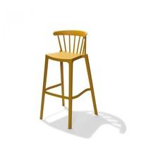 VEBA Windson barkruk geel | 550x560x1030(h)mm