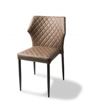 VEBA Louis stoel cognac   490x575x815(h)mm