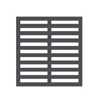 Mastro Rooster voor Div. Mastro Koelkasten | Zwarte  Coating | 499x355mm