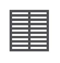 Mastro Rooster voor Mastro Koelkast MAS-BFD0023 | Zwarte Coating | 673x473mm