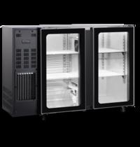 TopCold Barkoelkast | 312L | Zwart | +1°C/+8°C | Geventileerd | Compressor | 1255x565x890/905(h)mm