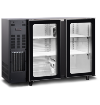 TopCold Barkoelkast | 379L | Zwart | +1°C/+8°C | Geventileerd | Compressor | 1455x565x890/905(h)mm