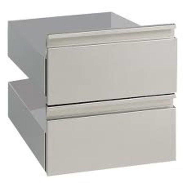 2 lades voor onderstel   400x540x400(h)mm