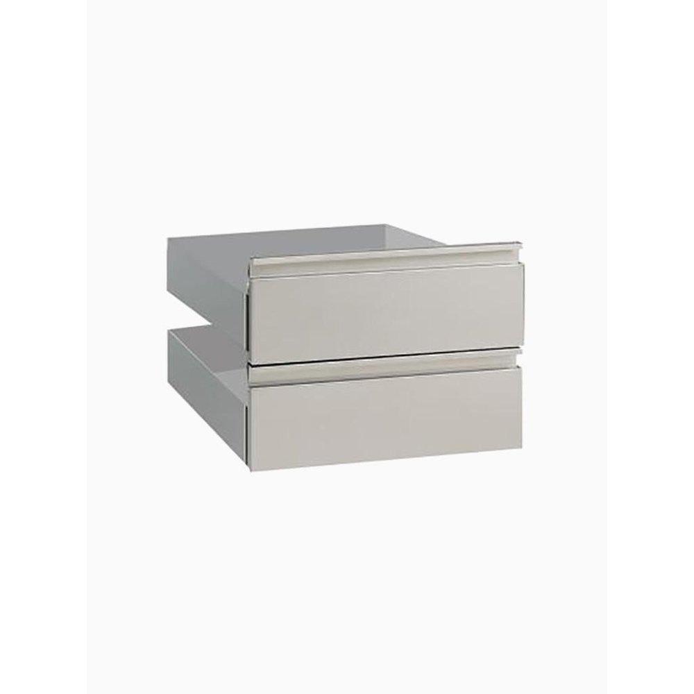 2 lades voor onderstel   700x540x400(h)mm