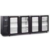 TopCold Barkoelkast | 664L | Zwart | +1°C/+8°C | Geventileerd | Compressor | 2295x565x890/905(h)mm