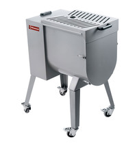 Diamond Vleesmenger in RVS 50 kg onderstel op wielen | 1,46kW/h | 750x465x595/1120(h)mm