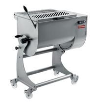 Diamond Vleesmenger in RVS 80 kg onderstel op wielen | 1,1 kW/h | 1000x630x1220/1617(h)mm