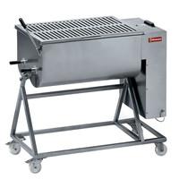 Diamond Vleesmenger in RVS 120 kg onderstel op wielen | 2,2 kW/h | 1030x670x1080/1260(h)mm