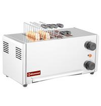 Diamond Toaster elektrisch RVS  ( croque moniseur ) | 4 tangen |  2,15kW/h | 430x200x225(h)mm