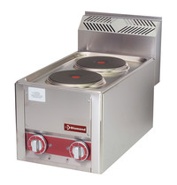 Diamond Kookfornuis elektrisch   2 platen   4 kW/h   330x600x290(h)mm