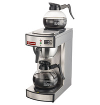 Diamond Koffiepercolator - 1 groep + 2 platen | 2,23 kW/h | 196x360x430(h)mm