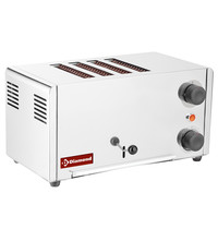 Diamond Broodrooster elektrisch RVS 4 sneden   430x200x240(h)mm