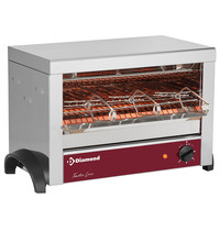 Diamond Toaster 3 tangen quartz | 1,8kW/h | 525x305x325(h)mm