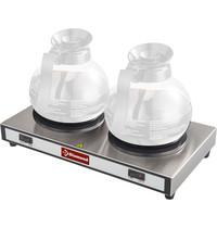 Diamond Verwarmplaten voor 2 karaffen | 230V | 380x220x78(h)mm
