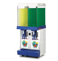 Diamond Drank dispenser | 2x 9 liter | 230V | Met draaiende schepborden | 300x300x690(h)mm