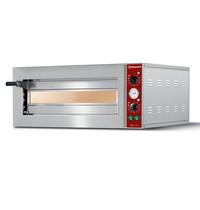 Diamond Pizzaoven elektrisch | 1x 42Øcm | Vuurvaste stenen | 2,1 kW/h | 700x560x390(h)mm