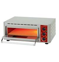 Diamond Pizza oven | 1x1 43Øcm | 3kW | Met vuurvaste stenen | 670x580x270(h)mm