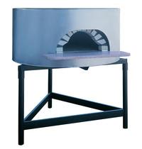 Diamond Traditionele pizzaoven op hout Ø 1100mm | Cap. voor 4/5 pizza's Ø 300 mm | Gedemonteerd | 1050(h)mm