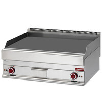Diamond Bakplaat/Grillplaat Extra Breed | Vlak 995x520mm 49,40 dm2 | 12kW | 1000x650x280/380(h)mm