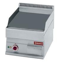 Diamond Bakplaat/Grillplaat -Top- | Vlak 395x520mm 20,5 dm2 | 4,5kW | 400x650x280/380(h)mm